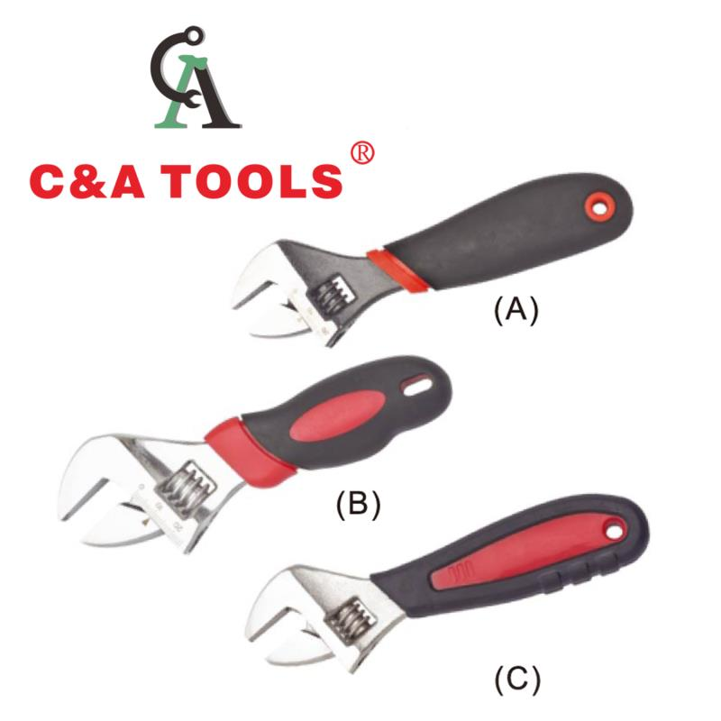 Adjustable Wrench with Short Handle