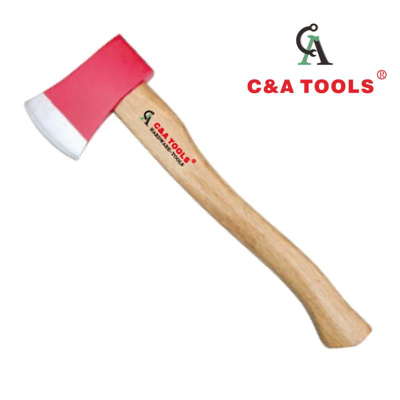 Axe with Wooden Handle
