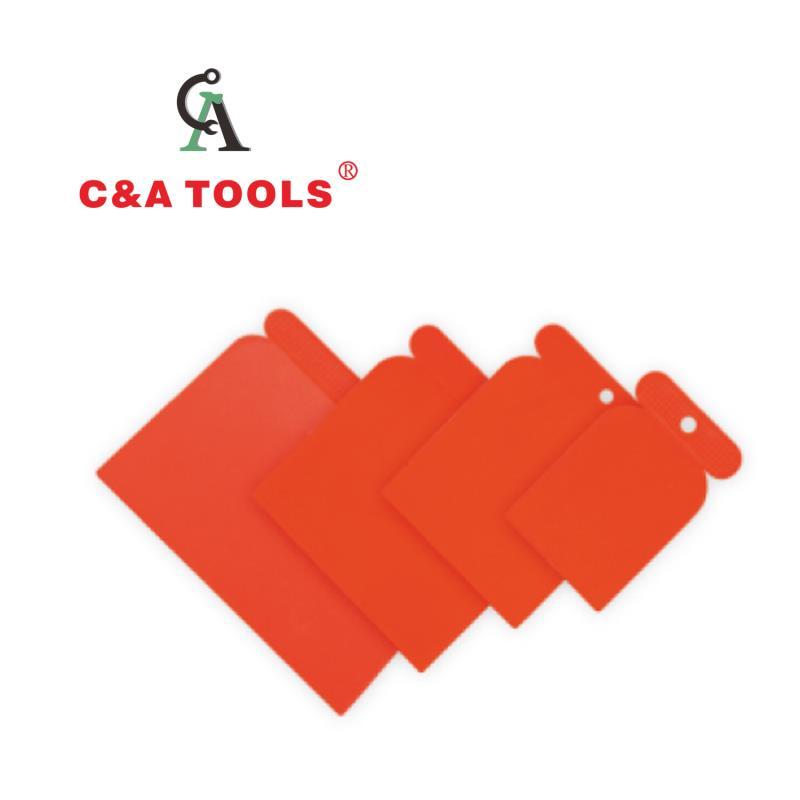 4pcs Plastic Scraper