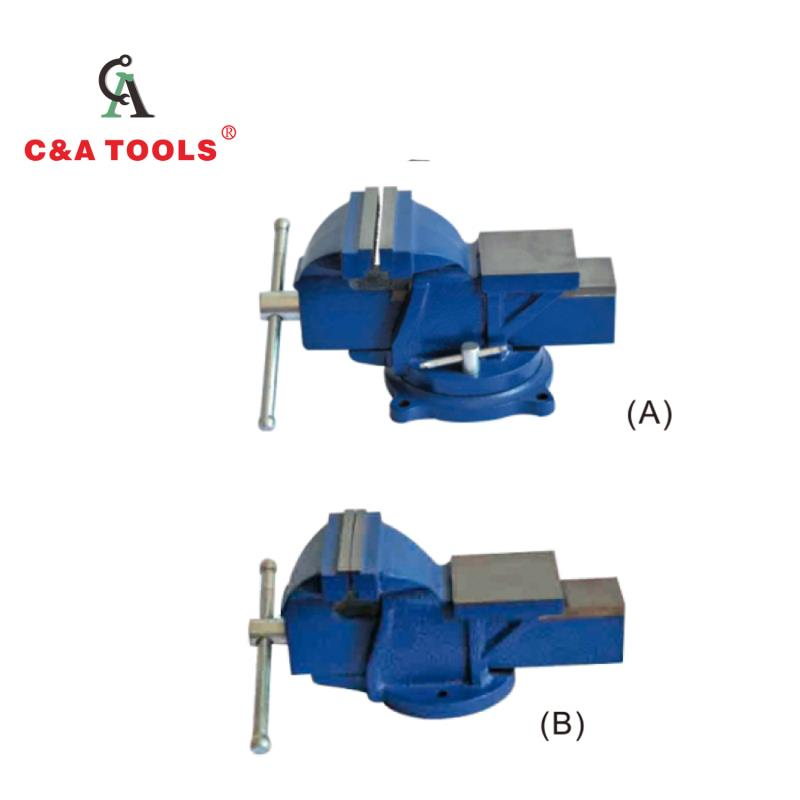 Heavy Duty Bench Vise With Anvil