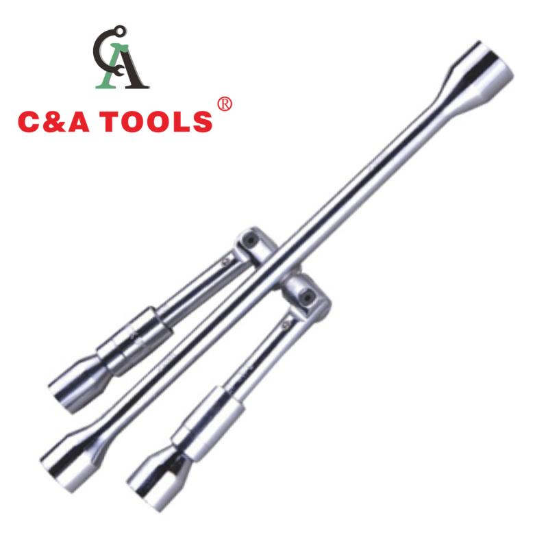 Foldable Cross Rim Wrench