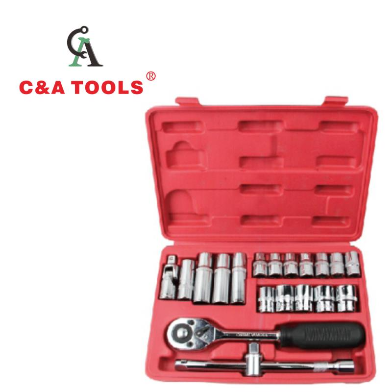 20 pcs Socket Set with Blow Case