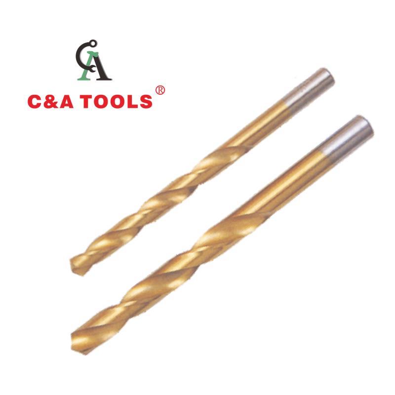 Titanium HSS Twist Drill