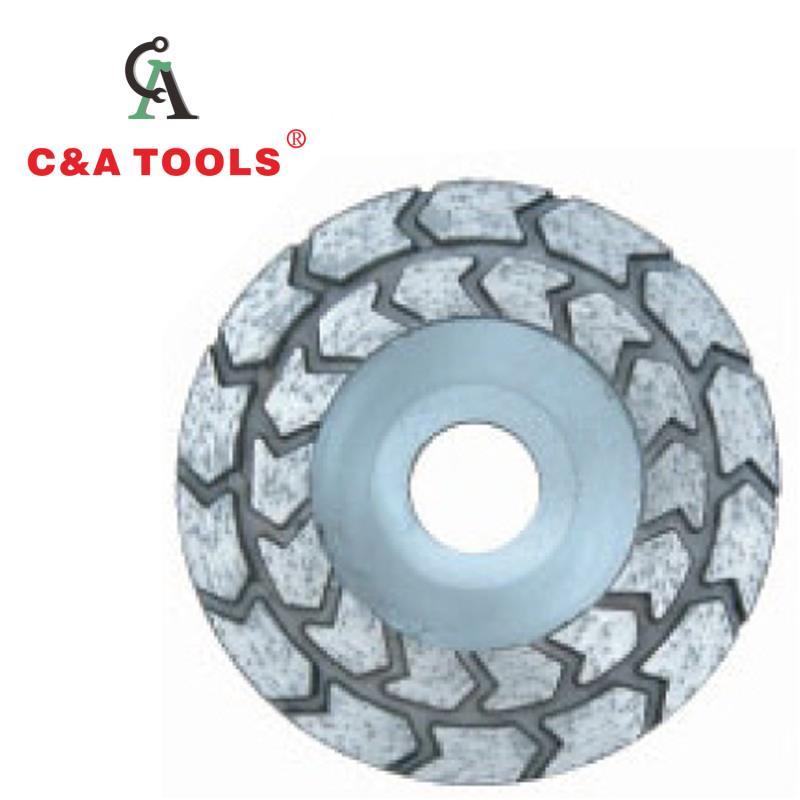 Arrows Turbe Cut Wheel - Aluminum Back