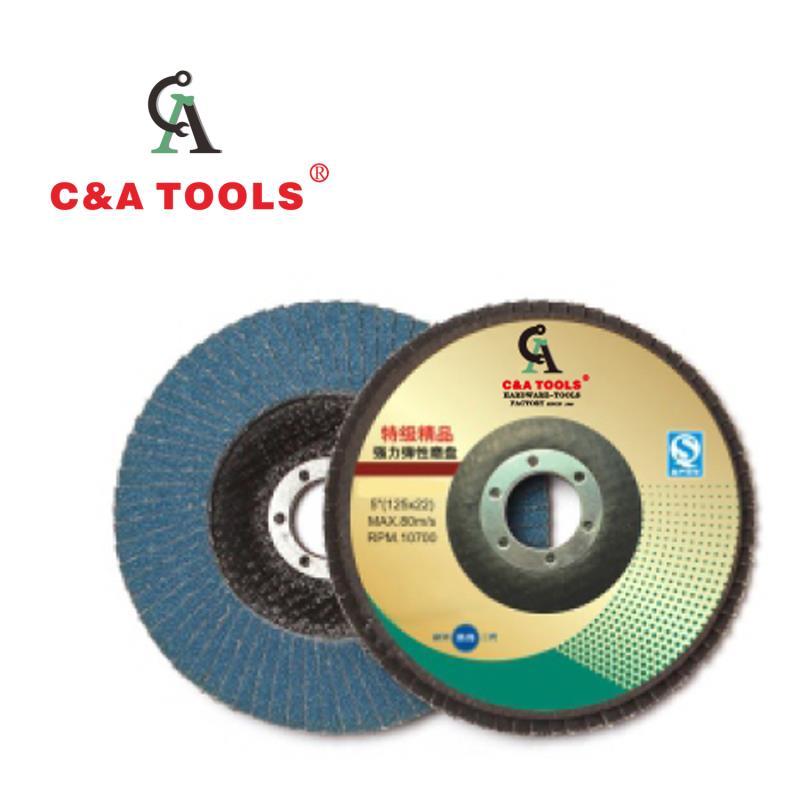 Flap Disc- Zirconia Aluminum Grains