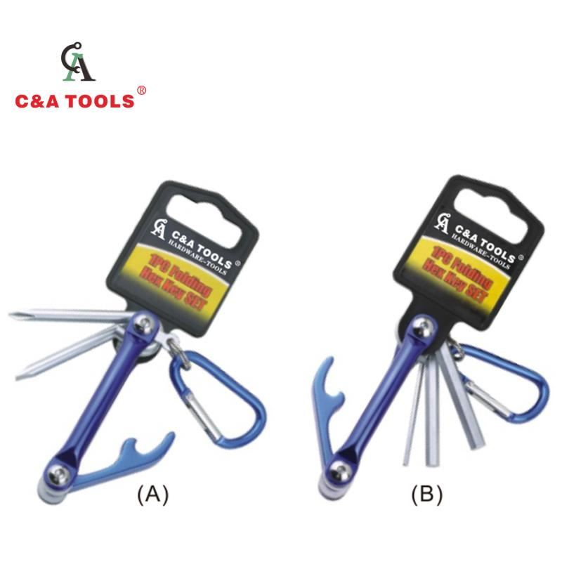 Folding Hex Key Set